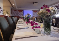 Graduation dinner in the function room