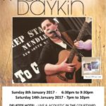 Ryan Daykin – Live and Acoustic