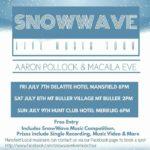 Snow Wave Live Music Tour