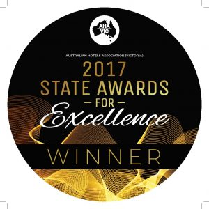 Australian Hotels Association winner 2017